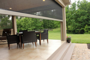 Retractable Porch Screens in Carriere